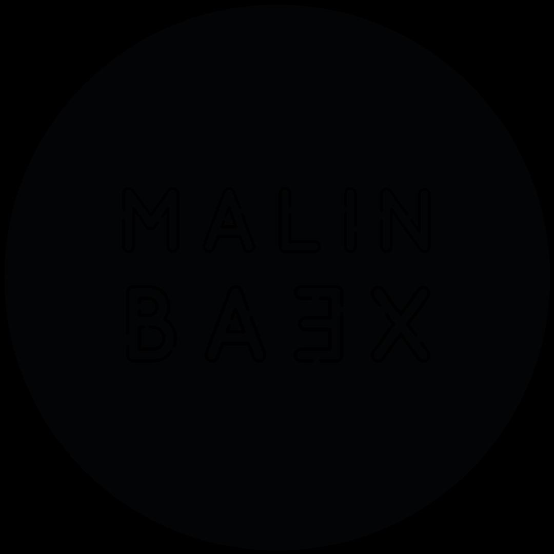 Malin Baex | Malin Bäx | DJ Piteå Boka Norrbotten Logotyp